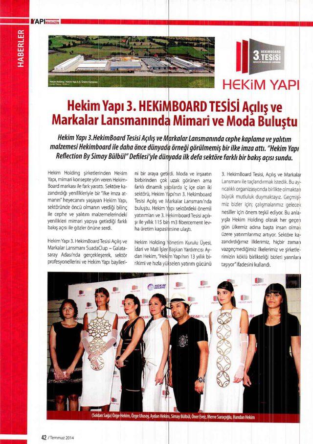 Yapı Magazin Dergisi