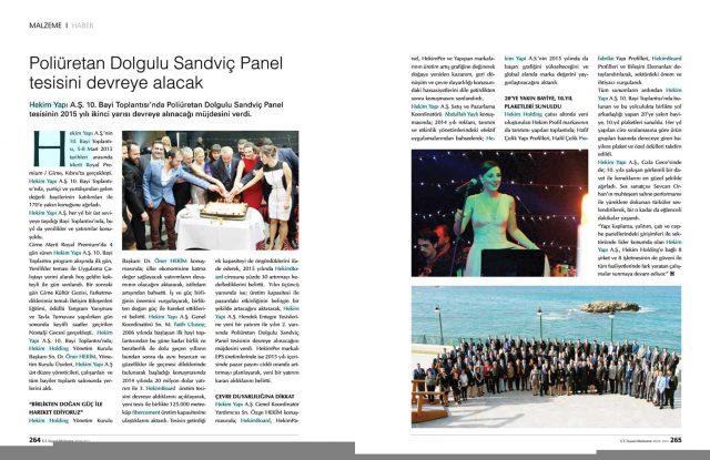 ST İnşaat Malzeme Dergisi