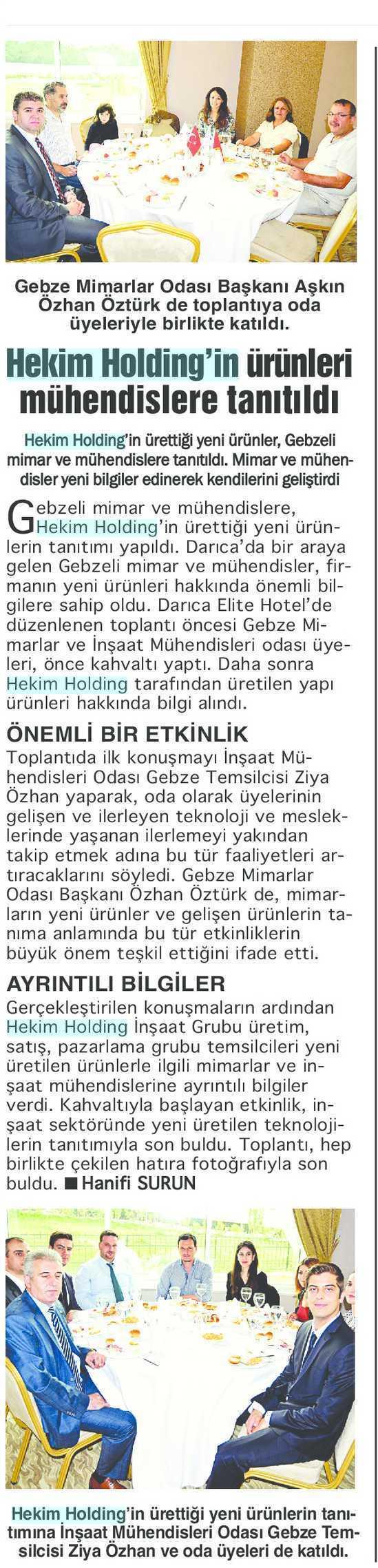 Bizim Kocaeli Gazetesi