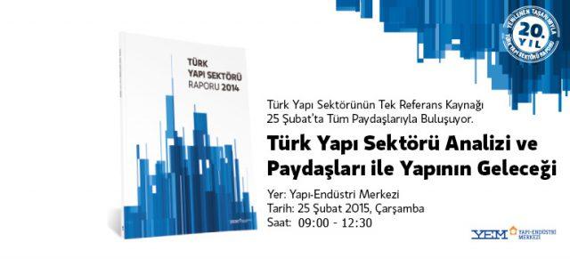 Türk Yapı Sektörü Raporu 2014
