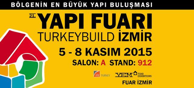 İzmir Yapı Fuarındayız