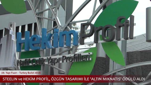 Hekim Holding 4 Şirket 2 İşletmesi ile 2016 Yapı Fuarı'nda