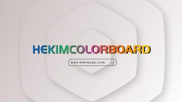 HekimColorBoard | Türkiye'nin İlk Kendinden Renkli Fibercementi
