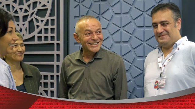 Öner Hekim 42.Yapı Fuarı'nı Ziyaret Etti | Hekim Yapı
