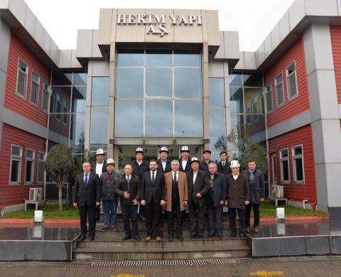 Kırgızistan Devlet Heyeti Sakarya 2. OSB'yi Ziyaret Etti