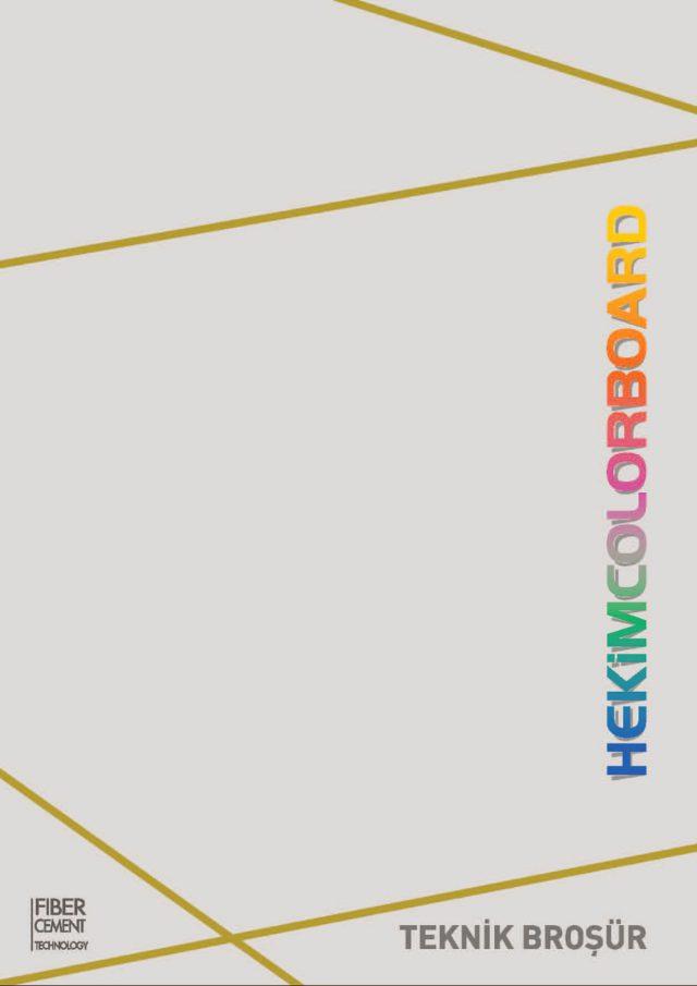 HekimColorBoard Teknik Broşür